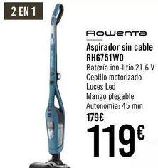 Oferta de ROWENTA Aspirador sin cable RH6751W0  por 109€