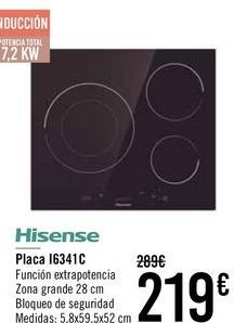 Oferta de Hisense Placa I63A1C  por 209€