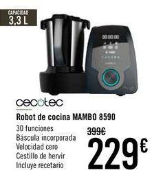 Oferta de CECOTEC Robot de cocina MAMBO 8590  por 219€