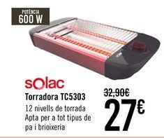 Oferta de SOLAC Tostador TC5303 por 27€
