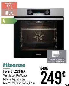 Oferta de Hisense Horno BI62216AX por 239€