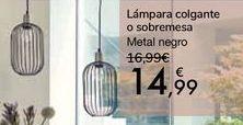Oferta de Lámpara colgante o sobremesa  por 14,99€
