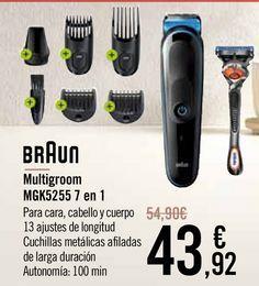Oferta de BRAUN Multigroom MGK5255 7 en 1 por 43,92€