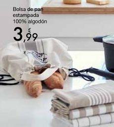 Oferta de Bolsa de pan estampada  por 3,99€