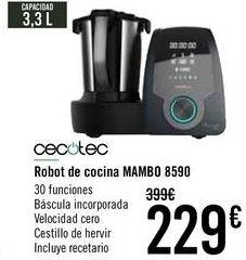 Oferta de Cecotec Robot de cocina Mambo 8590  por 229€