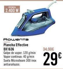 Oferta de ROWENTA Plancha Effective DX1636 por 29€