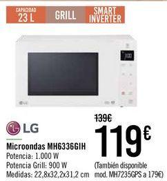 Oferta de Microondas MH6336GIH  por 119€