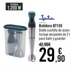 Oferta de Jata Batidora BT159 por 29,9€