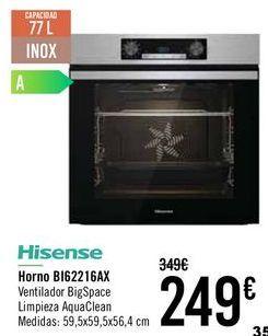 Oferta de HISENSE Horno B162216AX  por 249€
