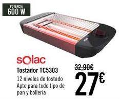 Oferta de Solac Tostadora TC5303  por 27€