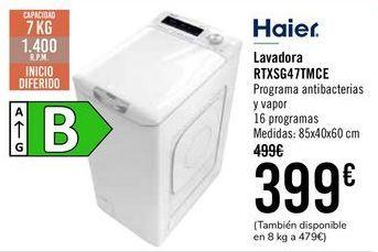 Oferta de Haier Lavadora RTXSG47TMCE  por 399€