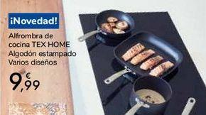 Oferta de Alfombra de cocina TEX HOME por 9,99€