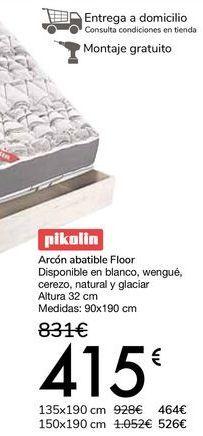Oferta de Pikolin Arcón abatible Floor por 415€