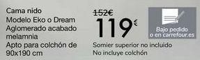Oferta de Cama nido Modelo Eko o Dream  por 119€