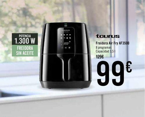 Oferta de Taurus Freidora Air Fry AF3500  por 99€