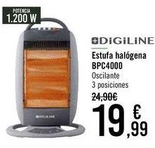 Oferta de Estufa halógena BPC4000  por 19,99€