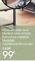 Oferta de Mesa elevable Jack  por 99€