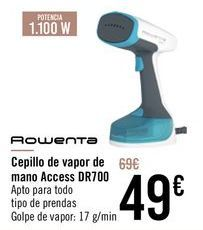 Oferta de ROWENTA Cepillo de vapor de mano Access DR700 por 49€
