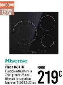 Oferta de Hisense Placa I6341C  por 219€