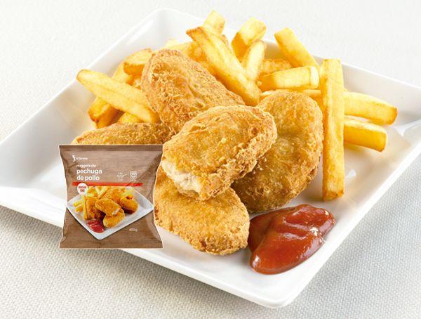 Oferta de Nuggets de pechuga de pollo por 2,09€