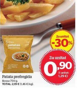 Oferta de Patatas fritas congeladas por 0,9€