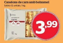 Oferta de Canelones de carne por 3,99€