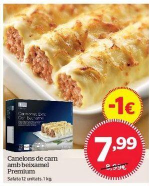 Oferta de Canelones de carne por 7,99€