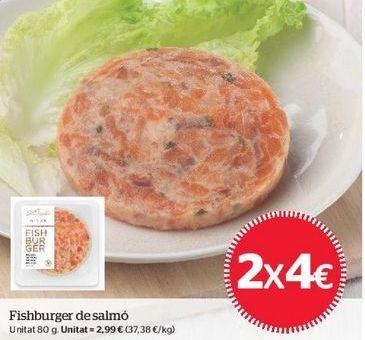 Oferta de Hamburguesas por 4€