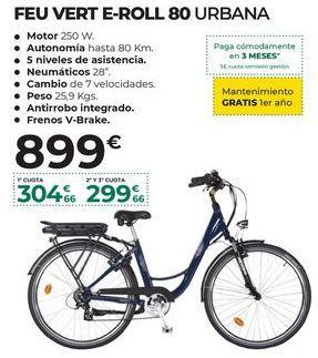 Oferta de Bicicleta eléctrica por 899€