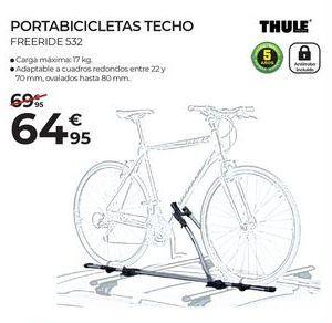 Oferta de Portabicicletas Thule por 64,95€