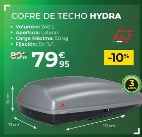 Oferta de Accesorios para coche por 79,95€