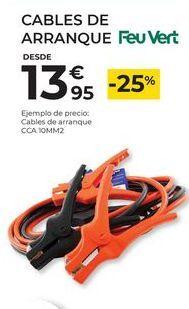 Oferta de Cable de arranque Feuvert por 13,95€