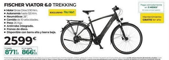 Oferta de Bicicleta eléctrica por 2599€