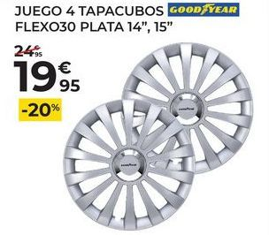 Oferta de Tapacubos Good Year por 19,95€