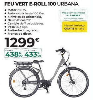 Oferta de Bicicleta eléctrica por 1299€