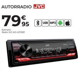 Oferta de Radio JVC por 79,95€