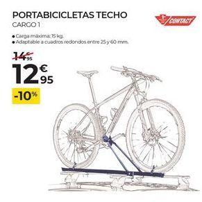 Oferta de Portabicicletas contact por 12,95€