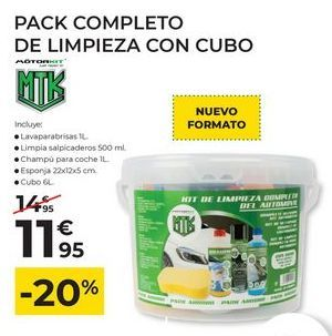 Oferta de Limpieza del coche por 11,95€
