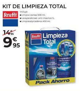 Oferta de Limpieza del coche krafft por 9,95€