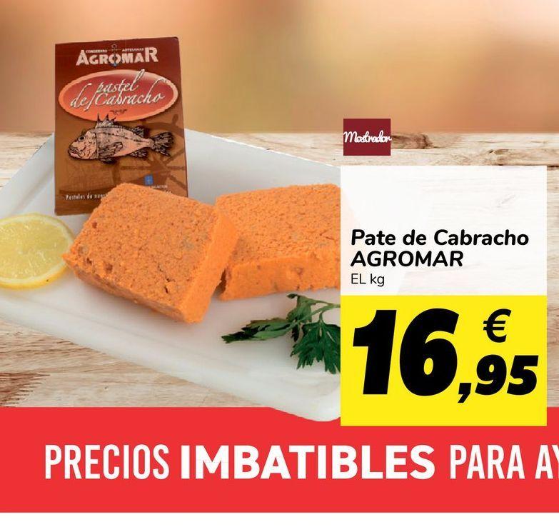 Oferta de Paté de cabracho Agromar por 16,95€
