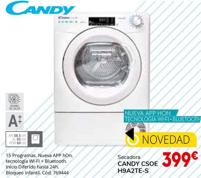 Oferta de Secadoras Candy por 399€