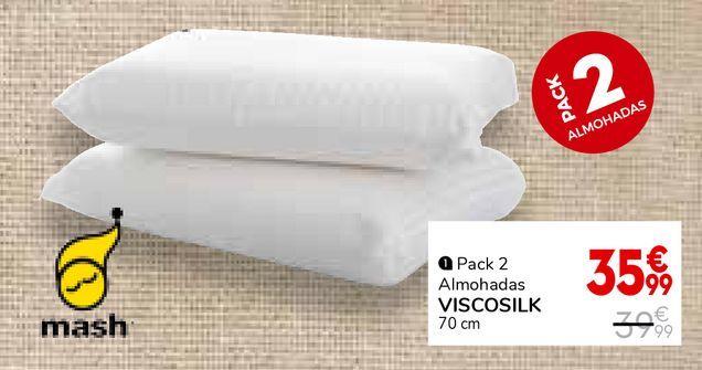 Oferta de Almohada viscoelástica por 35,99€