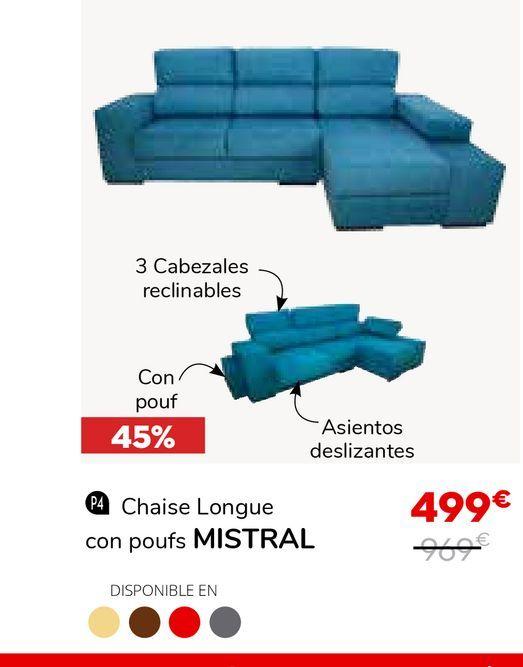 Oferta de Sillones por 499€