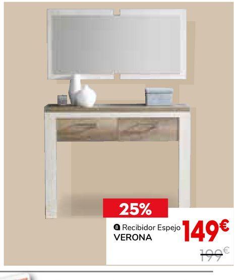 Oferta de Recibidor Verona por 149€