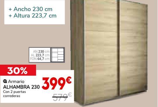 Oferta de Armarios Alhambra por 399€