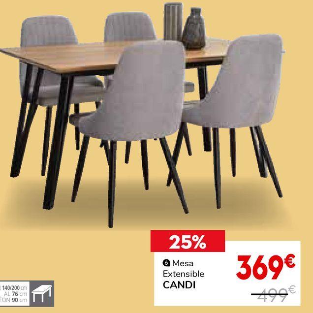 Oferta de Mesa extensible por 369€