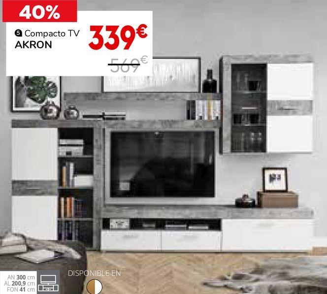 Oferta de Mueble tv por 339€