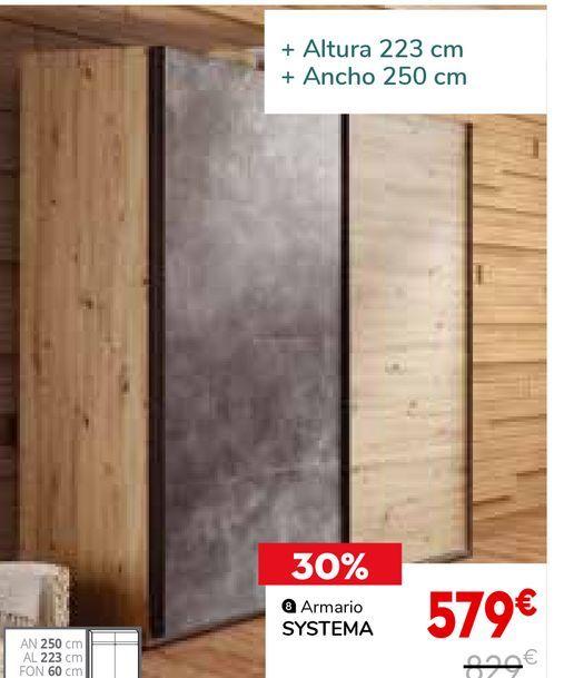 Oferta de Armarios por 579€