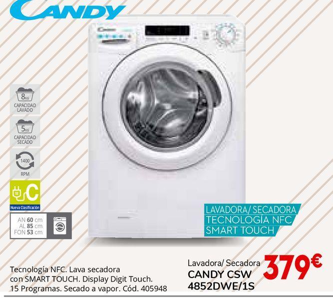 Oferta de Lavadora secadora Candy por 379€