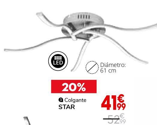 Oferta de Colgante Star por 41,99€